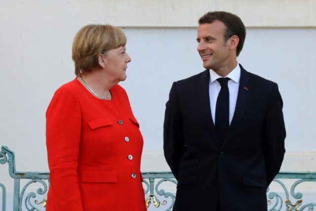 German Chancellor Angela Merkel and French President Emmanuel Macron agreed to set up a common budget for the eurozone