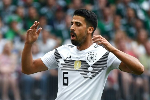 Germany midfielder Sami Khedira came under fire for his performance against Mexico