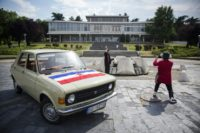 Visitors can take a three-hour tour in a Yugo car, once the pride of communist Yugoslavia, to view some of the former country's most significants sites, ending up at the Museum of History of Yugoslavia