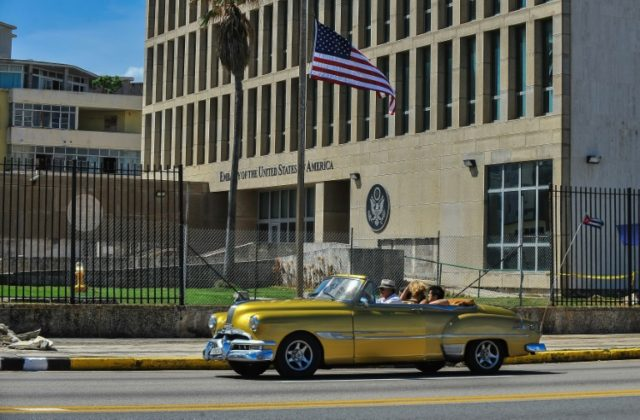 After holding Cuba responsible for either carrying out the attacks or failing to protect its officials, the US recalled more than half of its staff and expelled 15 Cuban diplomats from Washington