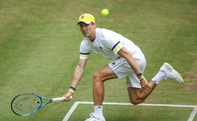 Australia's Matthew Ebden dropped the first set but fought back to beat Philipp Kohlschreiber