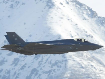 The F-35 fighter jet is considered the most expensive weapons system in US history