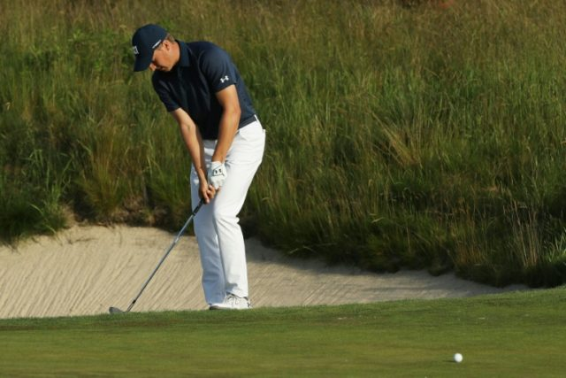 Fifth-ranked defending champion Jordan Spieth sees this week's US PGA Travelers Championship as a crucial step ahead of defending the British Open championship next month at Carnoustie