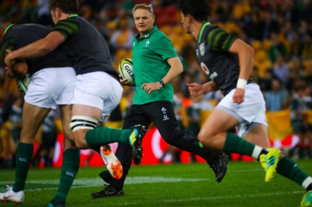 Joe Schmidt's Ireland are the world's number two Test team.