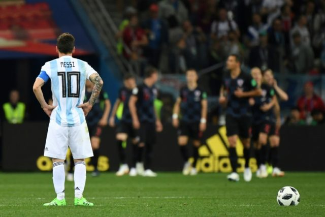 Lionel Messi carried Argentina on his back in qualifying but has been unable to inspire his country at the World Cup