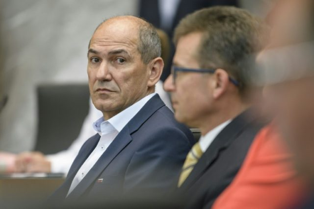 Janez Jansa, former Slovenian premier and head of the anti-immigrant SDS party, is likely to be tasked with forming a coalition government