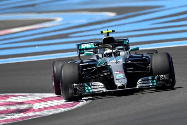 Valtteri Bottas recorded the second fastest time at the Circuit Paul Ricard to complete a Mercedes one-two in the first practice.