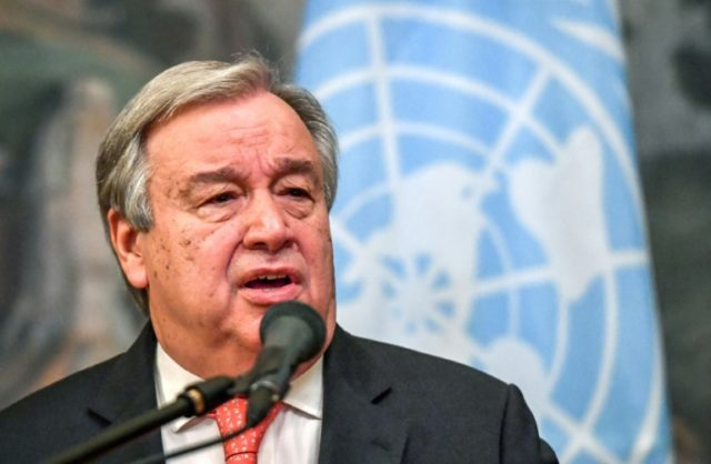 "UN Secretary General Antonio Guterres said he was ""gravely concerned"" by the recent upsurge in fighting from the Syrian government offensive, saying it posed ""significant risks"" to regional security"