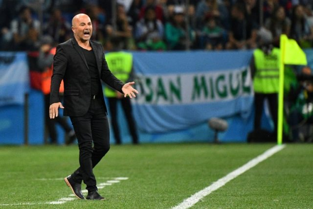 Jorge Sampaoli's job is at stake as Argentina teeter on the brink of an early exit in Russia