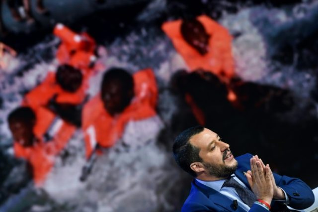 Interior Minister Matteo Salvini has become the public face of Italy's new unbending line on migrants