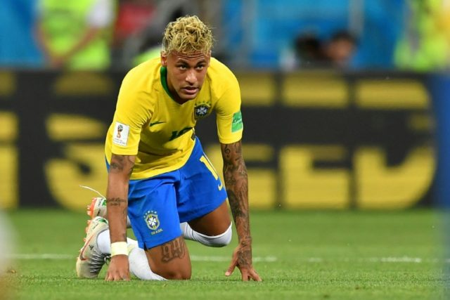 Neymar came into the World Cup struggling for fitness