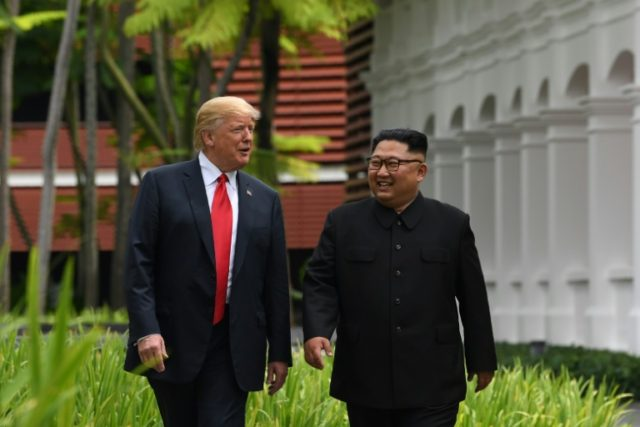 North Korea has already begun its denuclearization, US President Donald Trump said
