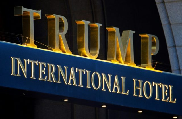 "Former judges, and two rabbis are among those seeking revocation of the liquor license for President Donald Trump's Washington hotel, saying he lacks ""good character"""