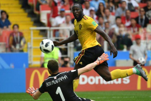 Belgium's Romelu Lukaku scored twice against Tunisia