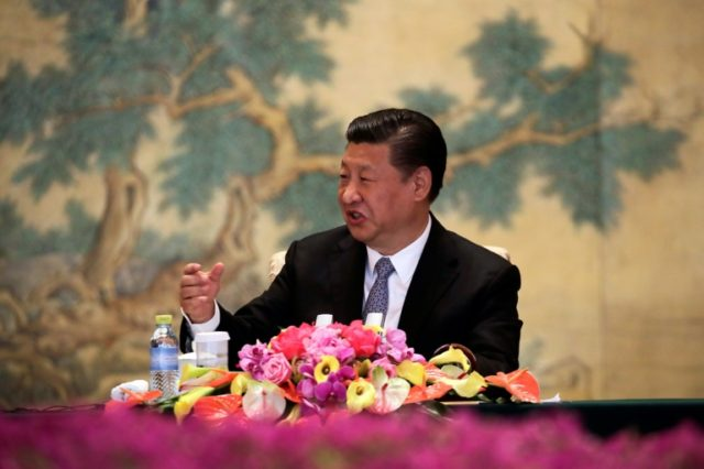 """Chinese President Xi Jinping told a gathering of foreign business executives that after after """"signs of stability and improvement in the world economy"""" last year, """"we have seen a surge of trade protectionism, isolationism and populism"""""""