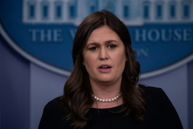 White House spokesperson Sarah Sanders confirmed she was asked to leave The Red Hen restaurant in Lexington, Virginia