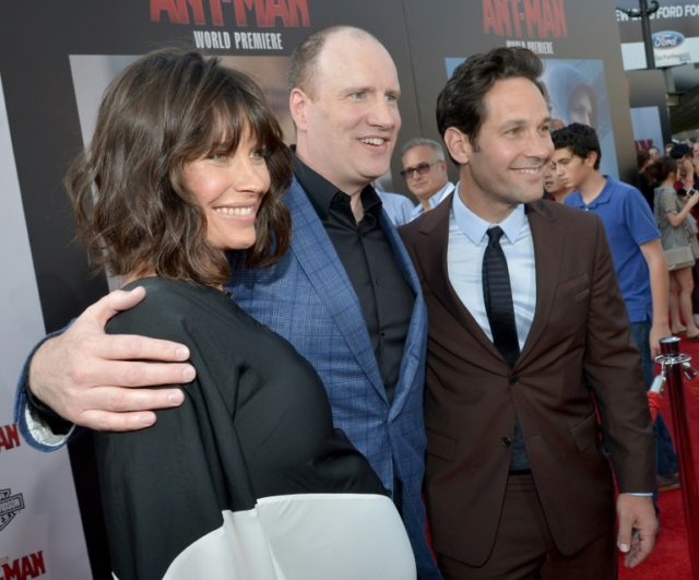 """Featuring Evangeline Lilly (left) and Paul Rudd (right) """"Ant-man and the Wasp"""" is the sequel to 2015's """"Ant-Man"""" and the first Marvel Cinematic Universe movie to feature a woman in the title"""