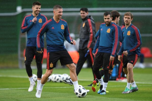 Sergio Ramos and Spain have coped well so far since the shock dismissal of coach Julen Lopetegui