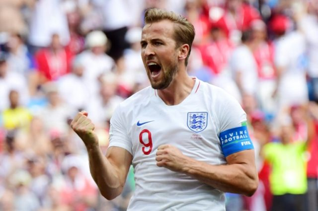 Harry Kane has now scored five times at this World Cup