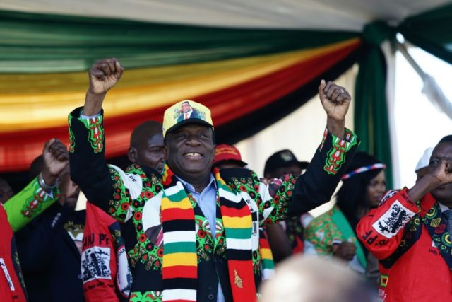 Zimbabwe's President Emmerson Mnangagwa said he was the target of the attack which injured dozens of people
