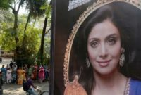 """Sridevi Kapoor, who died in February aged just 54, received the award for best actress for her final film, """"Mom"""", a thriller in which she seeks to avenge the gang-rape of her stepdaughter"""