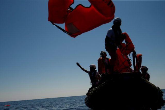 Charities operating rescue boats have come under fire from Italy