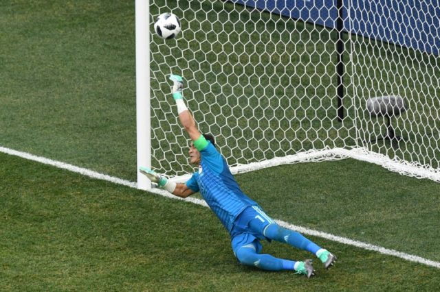 El Hadary, 45, made an incredible penalty save but was powerless to keep out a second spot-kick