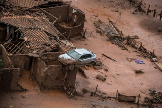 The dam burst buried a nearby village and left 19 people dead in one of Brazil's worst environmental disasters