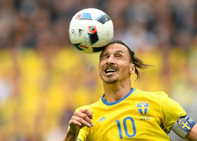 Zlatan Ibrahimovic was a giant figure in Swedish football