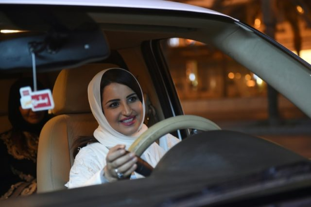 Across Riyadh, men and women stopped Samar's white SUV to congratulate her and voice their support