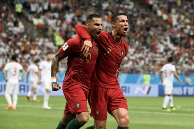 Ricardo Quaresma rewarded Fernando Santos for handing the Besiktas winger his first World Cup start