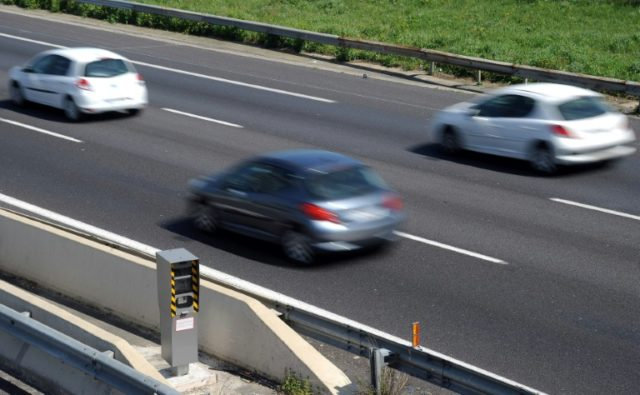 French police ticketed six drivers for going at least 180 kmh on a motorway in northern France on Sunday