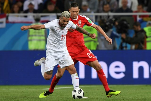 Valon Behrami says his team are focusing on football, not politics from here on