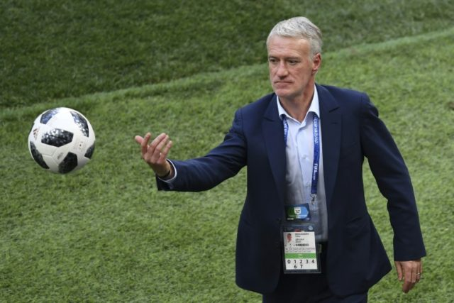 Didier Deschamps's France side played out a bore draw with Denmark to wrap up top spot in Group C