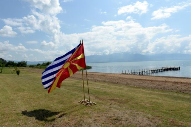 The preliminary agreement to change Macedonia's name was signed by both sides earlier this month at Lake Prespa on Greece's northern border