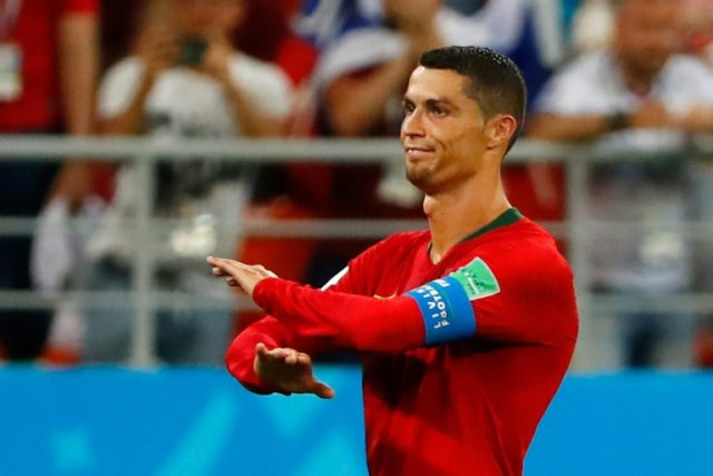 Cristiano Ronaldo missed a penalty and was lucky not to be sent off after catching an Iran defender with an elbow