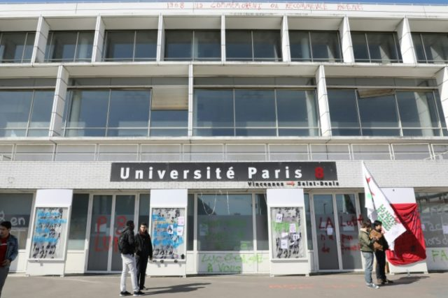 French police clear dozens of migrants from Paris university