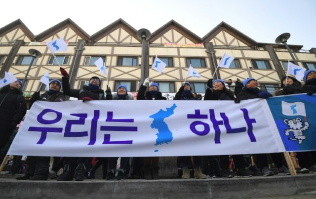 The two Koreas fielded a joint women's ice hockey team at the Winter Olympics