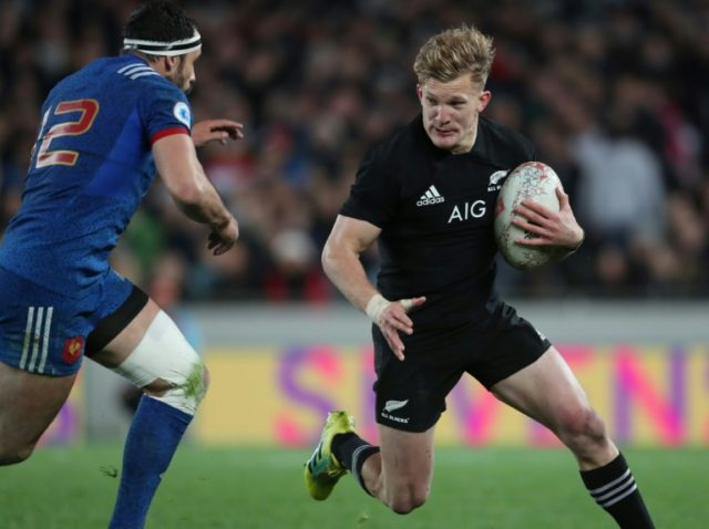 Damian McKenzie hit sizzling form during New Zealand's Test series against France.