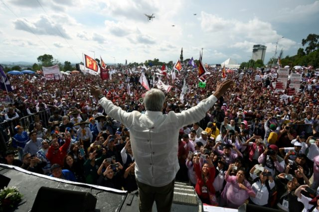 Mexico campaign closes with leftist 'AMLO' looking unstoppable