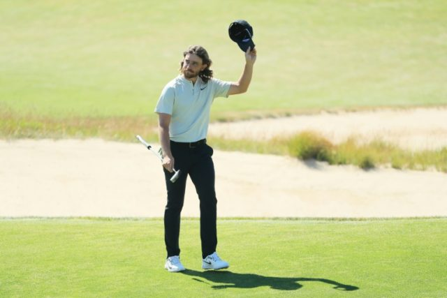 England's Tommy Fleetwood, finishing second at the US Open earlier this month.