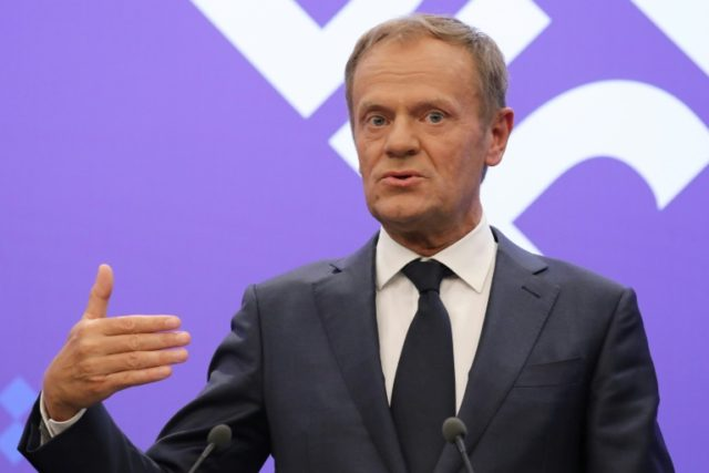 "European Council President Donald Tusk has warned ""time is short"" to reassure Europeans the EU can control migration before authoritarian leaders win the high-stakes debate"
