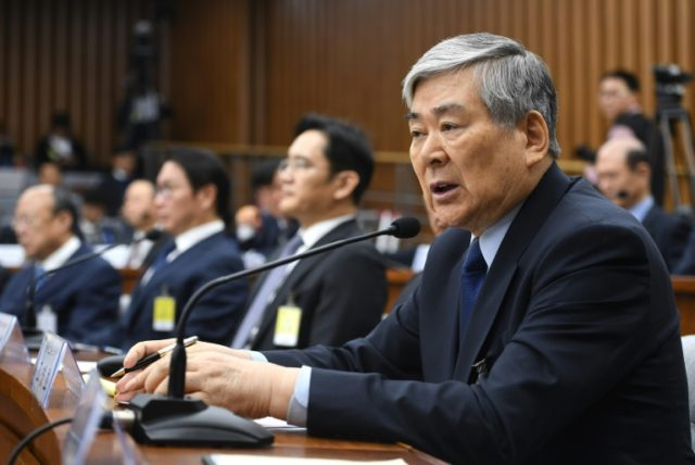 Hanjin Group chairman Cho Yang-ho, seen here in 2016, is accused of tax evasion and embezzlement