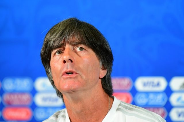 Germany's coach Joachim Loew has been told his job is safe