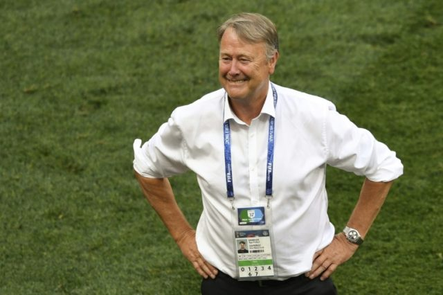 Denmark coach Age Hareide was delighted with his side's 0-0 draw against France which saw them reach the last 16