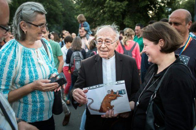 Romanian philosopher Mihai Sora, 101, describes himself as 'a man of justice'