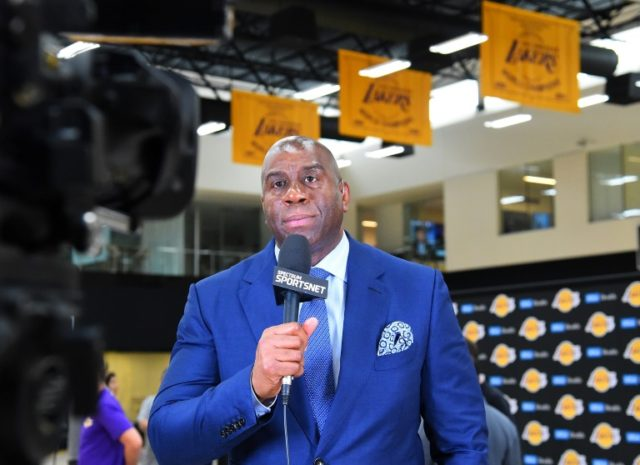 While Magic Johnson told reporters Tuesday that he would likely step down if he fails to secure his chosen targets, he stressed the team rebuilding would need this year and next year's free agency windows to be completed
