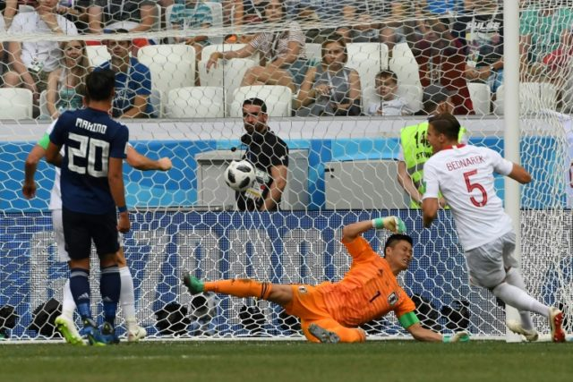 Jan Bednarek scores to give Poland a 1-0 win but Japan still scraped into last 16