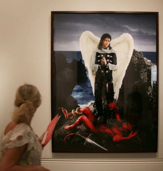 Michael Jackson's legacy as a pop-culture and artistic icon is showcased at a new exhibition at London's National Portrait Gallery opening Thursday