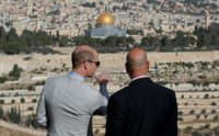 Britain's Prince William visits Jerusalem holy sites